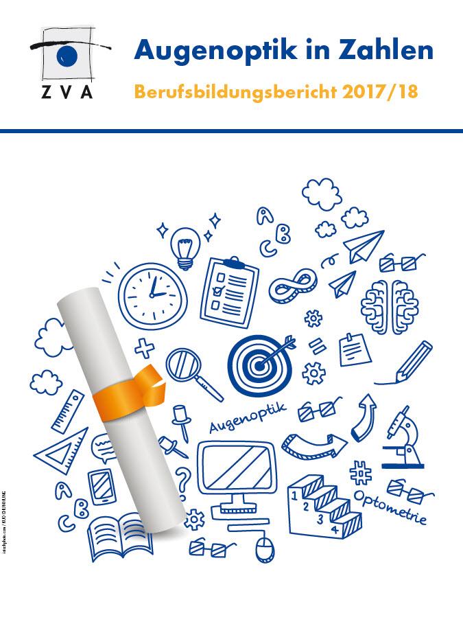 """Der Berufsbildungsbericht """"Augenoptik in Zahlen"""" kann hier heruntergeladen werden."""